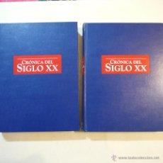 Libros de segunda mano - CRÓNICA DEL SIGLO XX 2 TOMOS - RBA - 1997 - 54642013