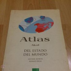 Libros de segunda mano: ATLAS AKAL DEL ESTADO DEL MUNDO - MICHAEL KIDRON / RONALD SEGAL -. Lote 54665883