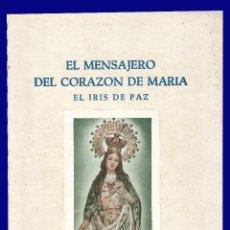 Libros de segunda mano: EL MENSAJERO DEL CORAZON DE MARIA - EL IRIS DE PAZ - NUMERO 2.353 - AÑO 1957. Lote 54684952