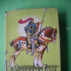 Libros de segunda mano: LEYENDAS Y TRADICIONES ESPAÑOLAS - EDITA : MATEU - COLECCION JUVENIL CADETE 1958 PEPETO. Lote 54691668