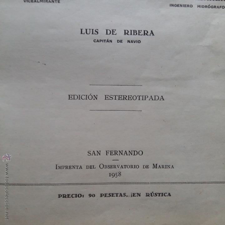 Libros de segunda mano: CURIOSO LIBRO RECONSTRUIDO DE TABLAS NAUTICAS, NAVEGACION ASTRONOMICA AÑOS 50-60. APUNTES A MANO - Foto 3 - 54694443