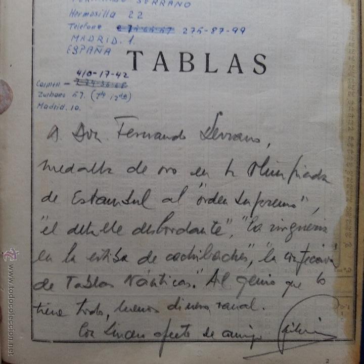 Libros de segunda mano: CURIOSO LIBRO RECONSTRUIDO DE TABLAS NAUTICAS, NAVEGACION ASTRONOMICA AÑOS 50-60. APUNTES A MANO - Foto 6 - 54694443