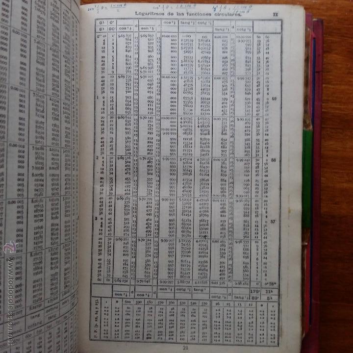 Libros de segunda mano: CURIOSO LIBRO RECONSTRUIDO DE TABLAS NAUTICAS, NAVEGACION ASTRONOMICA AÑOS 50-60. APUNTES A MANO - Foto 16 - 54694443