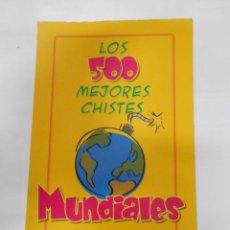 Libros de segunda mano: LOS 500 MEJORES CHISTES MUNDIALES. EDICIONES BRONTES. HUMOR. J.L. SALMER. TDK179. Lote 54702416