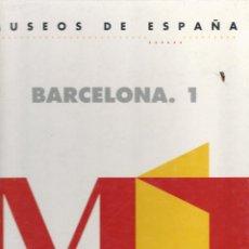 Libros de segunda mano: MUSEOS DE ESPAÑA. BARCELONA 1 - F & G EDITORES, S.A., 1993 - 69 P. ; 29X23 CM. Lote 54705365