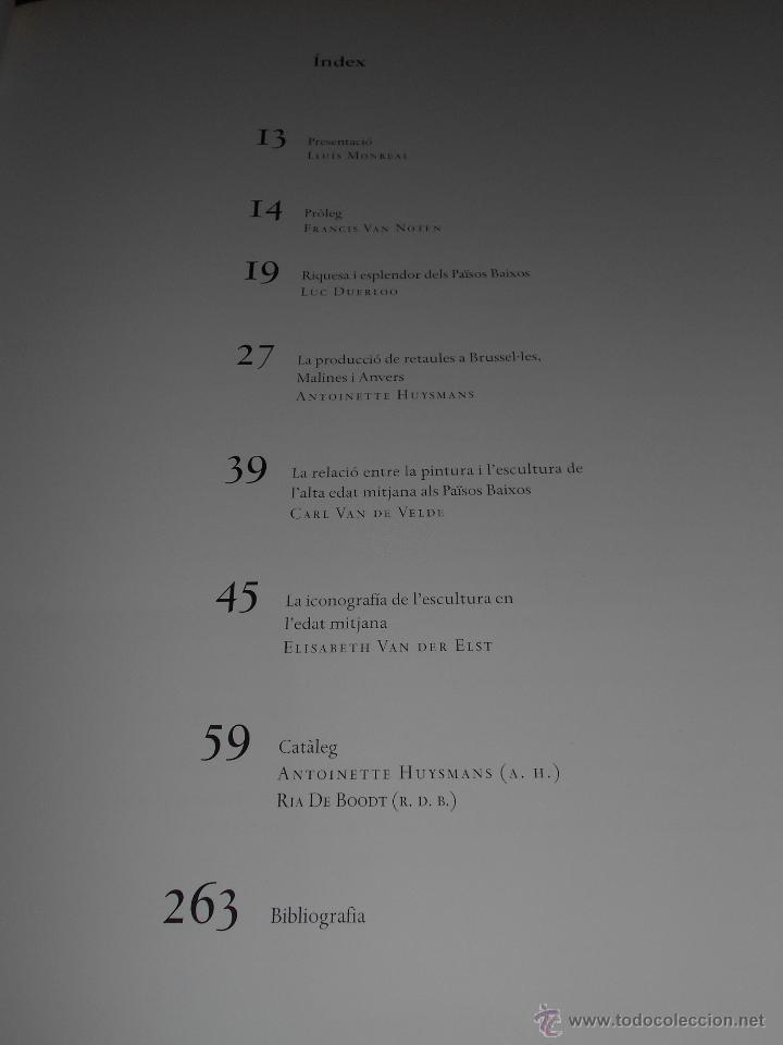 Libros de segunda mano: LEsplendor de Flandes. Catálogo de la exposición organizada por la Fundació La Caixa en 1999. - Foto 6 - 54711244