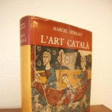 Libros de segunda mano: MARCEL DURLIAT: L'ART CATALÀ (JOVENTUT, 1967) MOLT BON ESTAT. Lote 54724427