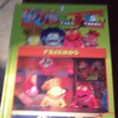Libros de segunda mano: LIBRO DVD.LOS LUNNIS ENGLISH PARA TODOS. 1. FRIENDS. EST23B6. Lote 54739320