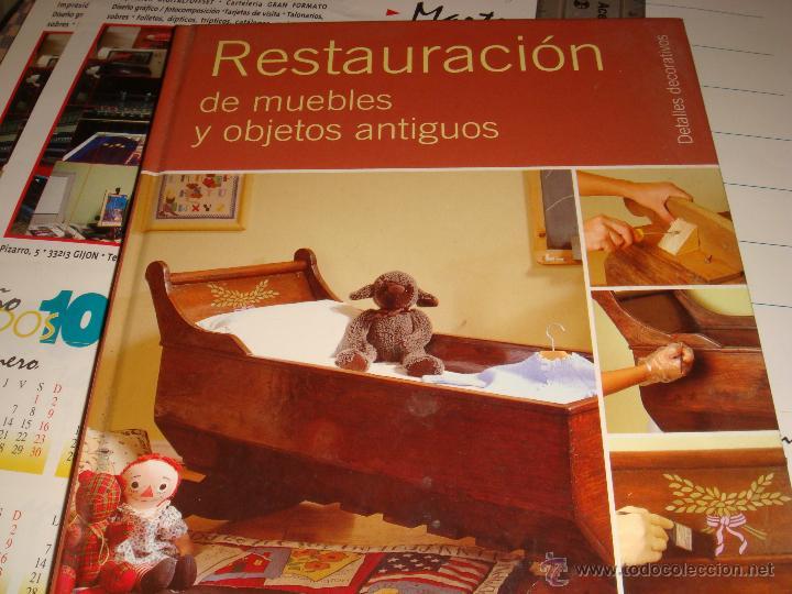 Restauraci n de muebles y objetos antiguos comprar en todocoleccion 54751116 - Restauracion muebles antiguos ...
