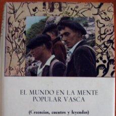 Libros de segunda mano: BARANDIARAN. EL MUNDO EN LA MENTE POPULAR VASCA. 1961. Lote 54792234