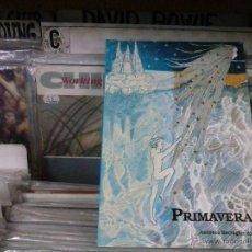 Libros de segunda mano: PRIMAVERAS,ANTONIA BARRAGAN AJENJO,1997. Lote 54806936