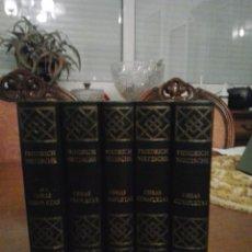 Libros de segunda mano: NIETSCHE(OBRAS COMPLETAS). Lote 54813875
