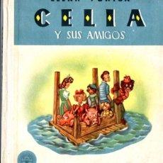 Libros de segunda mano: ELENA FORTÚN : CELIA Y SUS AMIGOS (M. AGUILAR, 1953). Lote 54828102