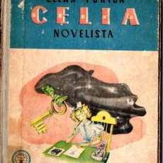 Libros de segunda mano: ELENA FORTÚN : CELIA NOVELISTA (M. AGUILAR, 1948). Lote 54828487