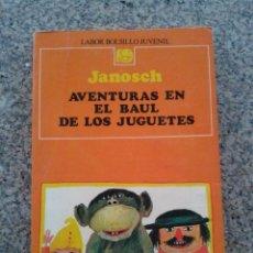 Libros de segunda mano: AVENTURAS EN EL BAUL DE LOS JUGUETES -- JANOSCH -- EDITORIAL LABOR - 1987 --. Lote 54855719