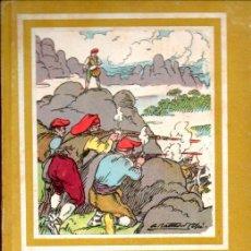 Libros de segunda mano: EL TIMBAL DEL BRUC (AYAX SALVATELLA, 1958) ILUSTRADO POR BATLLORÍ JOFRÉ - EN CATALÁN. Lote 209887866
