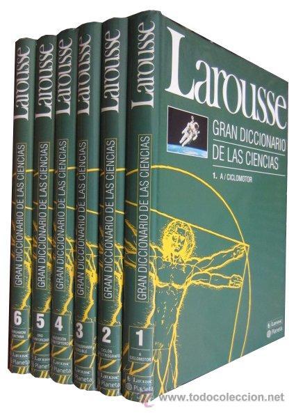 0019561 LAROUSSE, GRAN DICCIONARIO DE LAS CIENCIAS 6 TOMOS OBRA COMPLETA (Libros de Segunda Mano - Ciencias, Manuales y Oficios - Otros)