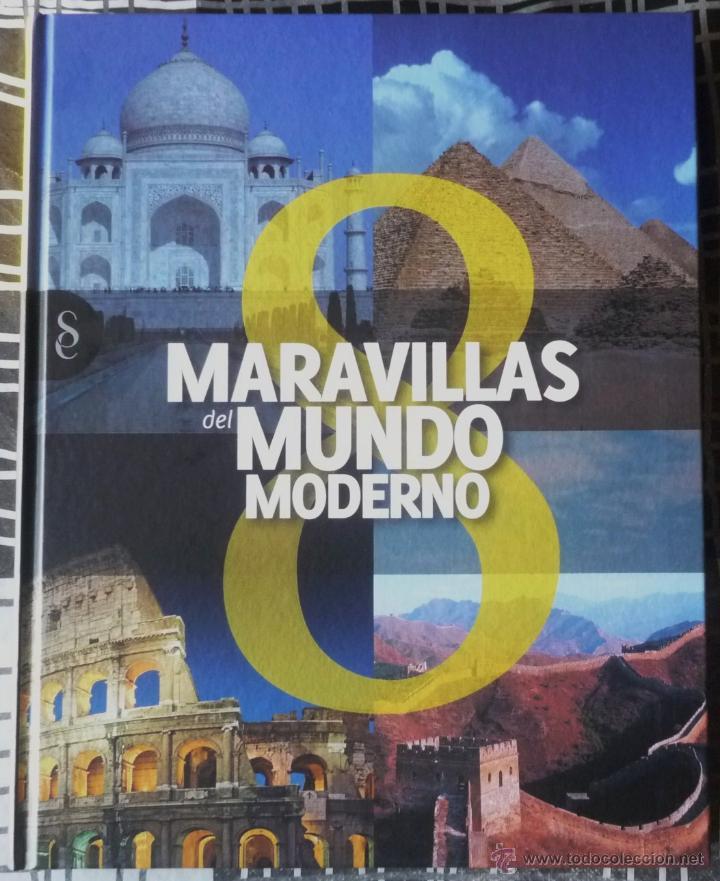 LIBRO 8 MARAVILLAS DEL MUNDO MODERNO. COMPLETAMENTE NUEVO (Libros de Segunda Mano - Bellas artes, ocio y coleccionismo - Otros)