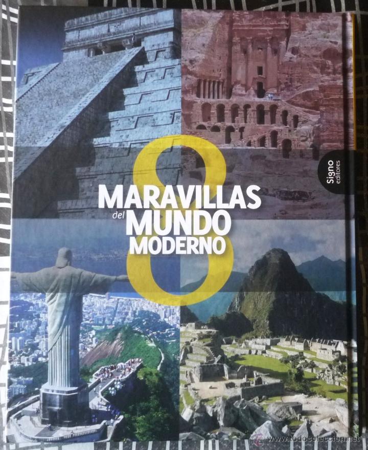 Libros de segunda mano: LIBRO 8 MARAVILLAS DEL MUNDO MODERNO. COMPLETAMENTE NUEVO - Foto 2 - 54960938