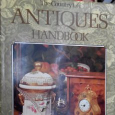 Libros de segunda mano: ANTIQUES HANDBOOK. MUEBLES, RELOJES, PORCELANA, CRISTAL, PLATA.. Lote 54961118