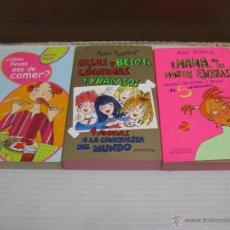 Libros de segunda mano: 3 ED MONTENA,2002, 2003. JUVENIL. Lote 55014979