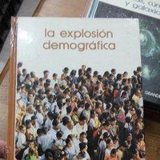 Libros de segunda mano: LIBRO BIBLIOTECA SALVAT DE GRANDES TEMAS Nº15 LA EXPLOSIÓN DEMOGRÁFICA 1974 ED. SALVAT L-4364-112. Lote 55021860