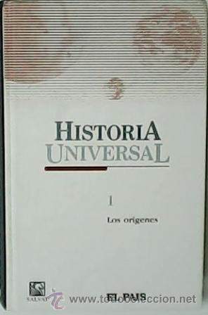 HISTORIA UNIVERSAL. LOS ORÍGENES. TOMO 1. - VV.AA.- COLABORADORES: JOSÉ FERNANDO AGUIRRE, ELENA ALMI (Libros de Segunda Mano - Historia - Otros)
