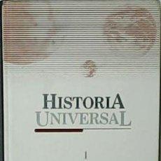 Libros de segunda mano: HISTORIA UNIVERSAL. LOS ORÍGENES. TOMO 1. - VV.AA.- COLABORADORES: JOSÉ FERNANDO AGUIRRE, ELENA ALMI. Lote 54524315