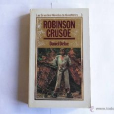 Libros de segunda mano: ROBINSON CRUSOE. LIBRO. Lote 55034716