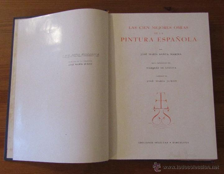 Libros de segunda mano: 3 LIBROS LAS CIEN MEJORES OBRAS DE -PINTURA-ESCULTURA-ARQUITECTURA ESPAÑOLA TODOS EN 1ª EDICION - Foto 11 - 55039652