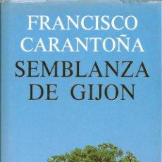 Libros de segunda mano: SEMBLANZA DE GIJÓN ( FIRMADO POR EL AUTOR ). Lote 55051605