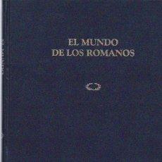 Libri di seconda mano: EL MUNDO DE LOS ROMANOS - RBA EDITORIAL 1996 / ILUSTRADO. Lote 55094548