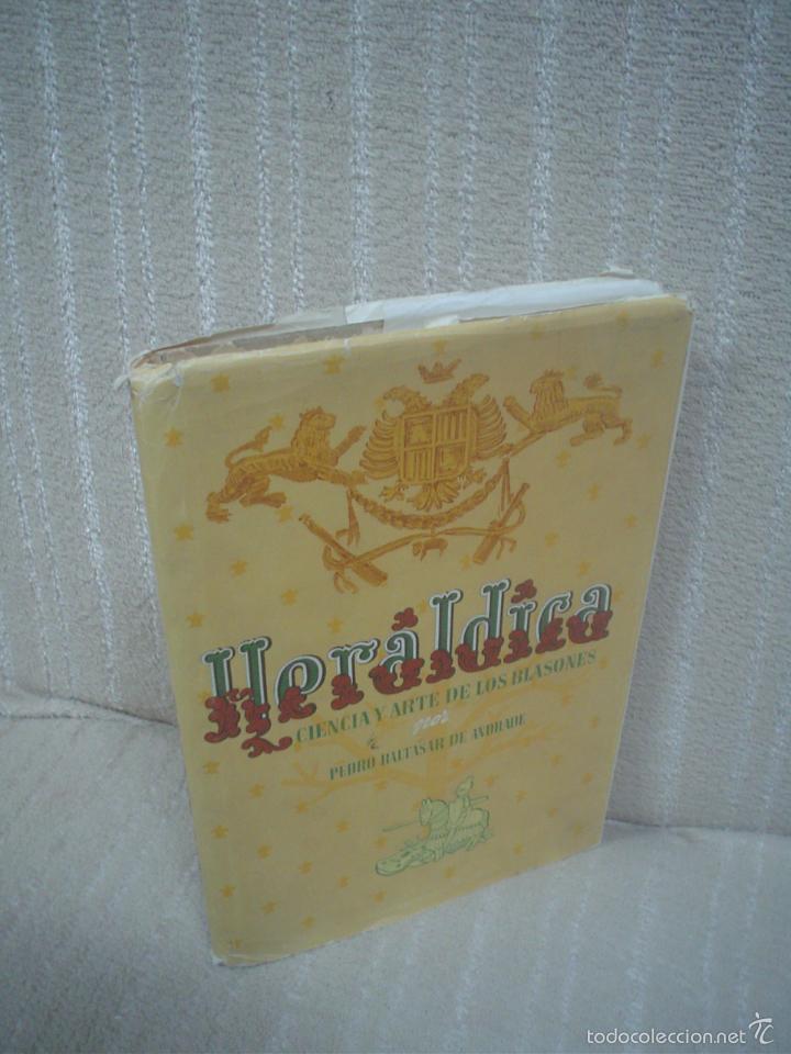 PEDRO BALTASAR DE ANDRADE: HERÁLDICA (CIENCIA Y ARTE DE LOS BLASONES) (Libros de Segunda Mano - Bellas artes, ocio y coleccionismo - Otros)