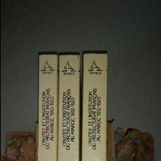 Libros de segunda mano: 3 TOMOS - LYAUTEY ET L'INSTITUTION DU PROTECTORAT FRANCAIS AU MAROC, 1912-1925. Lote 55134982
