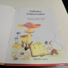 Libros de segunda mano: FABULAS UNIVERSALES. Lote 58099089