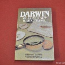 Libros de segunda mano: DARWIN SIR JULIAN HUXLEY H.D.B. KETTLEWEL BIBLIOTECA SALVAT - CIB. Lote 55242174