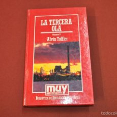 Libros de segunda mano: LA TERCERA OLA VOLUMEN I - ALVIN TOFFLER - MUY INTERESANTE - CIB. Lote 55242840