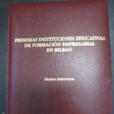 Libros de segunda mano: CLÁSICOS DEL PENSAMIENTO ECONÓMICO VASCO TOMO 8 VV.AA AÑO 2004. Lote 55311112