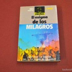 Livres d'occasion: EL ENIGMA DE LOS MILAGROS - L. UTSET - LIBROEXPRES - ESB. Lote 55313837