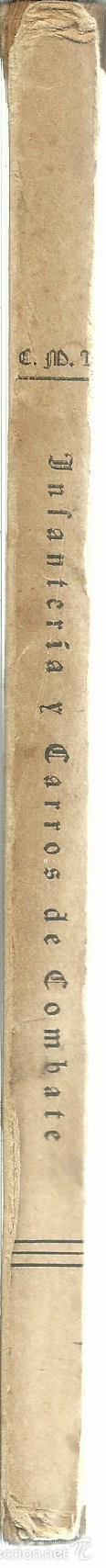 Libros de segunda mano: INFANTERÍA Y CARROS DE COMBATE. CÉSAR MANTILLA LAUTREC. MADRID. 1948 - Foto 2 - 55315324
