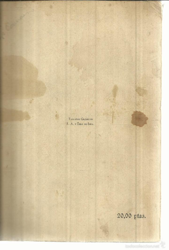 Libros de segunda mano: INFANTERÍA Y CARROS DE COMBATE. CÉSAR MANTILLA LAUTREC. MADRID. 1948 - Foto 3 - 55315324