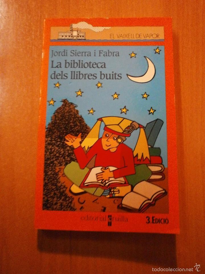 EL VAIXELL DE VAPOR - LA BIBLIOTECA DELS LLIBRES BUITS (Libros de Segunda Mano - Literatura Infantil y Juvenil - Otros)