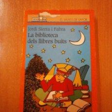 Libros de segunda mano: EL VAIXELL DE VAPOR - LA BIBLIOTECA DELS LLIBRES BUITS. Lote 55337335