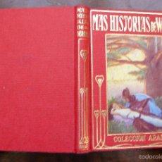 Libros de segunda mano: MAS HISTORIAS DE WAGNER COLECCIÓN ARALUCE MANUEL VALLVÉ ILUSTRADAS MYRBACH 1961. Lote 55380846