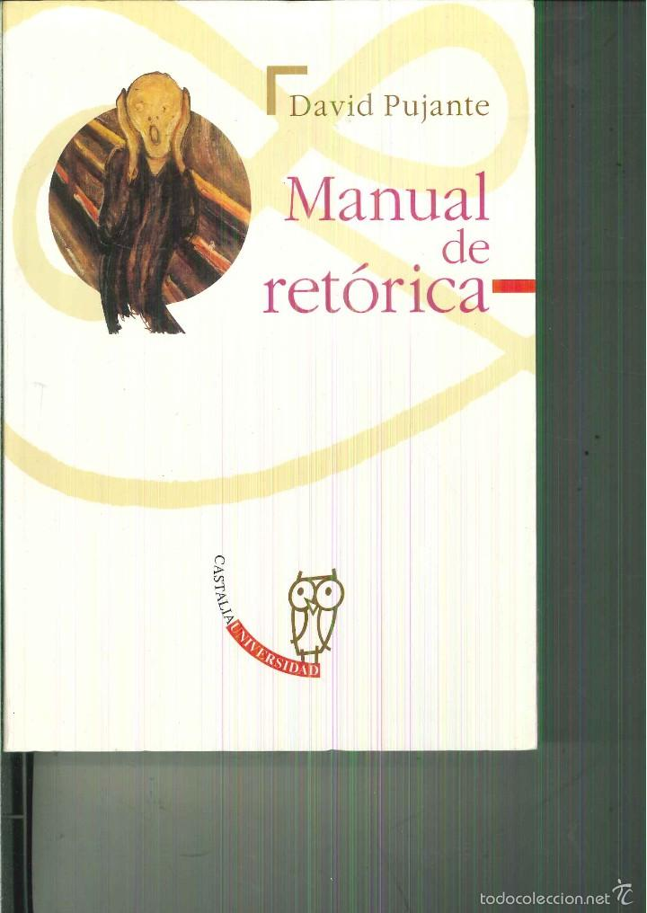 9788437610153: manual de retorica/ manual of rhetoric (spanish.