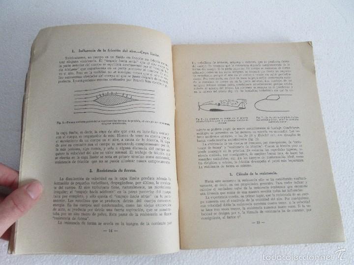 Libros de segunda mano: TEORIA DEL VUELO Y DEL AVION. INSTRUCCION AERONAUTICA PREMILITAR. 1942. VER FOTOGRAFIAS ADJUNTAS - Foto 11 - 55684198