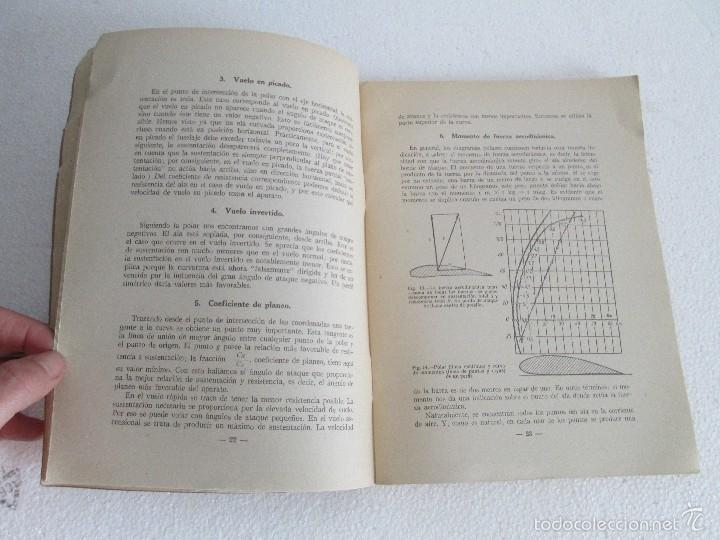 Libros de segunda mano: TEORIA DEL VUELO Y DEL AVION. INSTRUCCION AERONAUTICA PREMILITAR. 1942. VER FOTOGRAFIAS ADJUNTAS - Foto 12 - 55684198