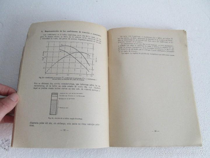Libros de segunda mano: TEORIA DEL VUELO Y DEL AVION. INSTRUCCION AERONAUTICA PREMILITAR. 1942. VER FOTOGRAFIAS ADJUNTAS - Foto 13 - 55684198