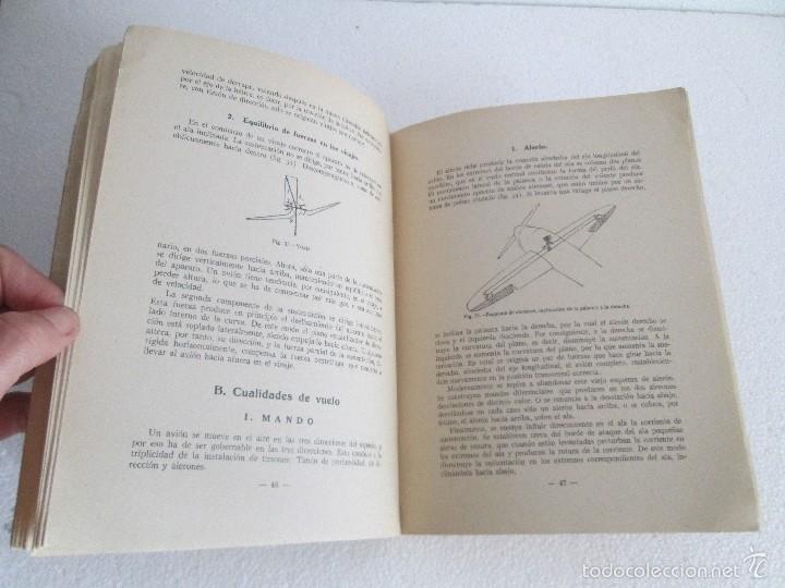 Libros de segunda mano: TEORIA DEL VUELO Y DEL AVION. INSTRUCCION AERONAUTICA PREMILITAR. 1942. VER FOTOGRAFIAS ADJUNTAS - Foto 14 - 55684198