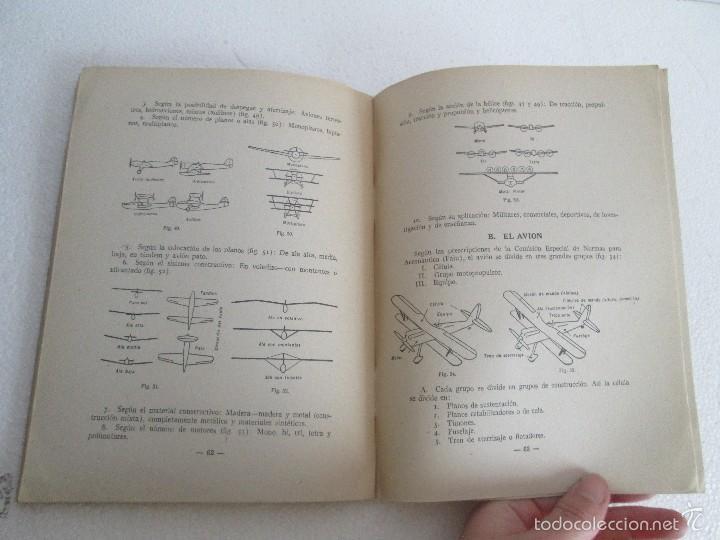 Libros de segunda mano: TEORIA DEL VUELO Y DEL AVION. INSTRUCCION AERONAUTICA PREMILITAR. 1942. VER FOTOGRAFIAS ADJUNTAS - Foto 15 - 55684198